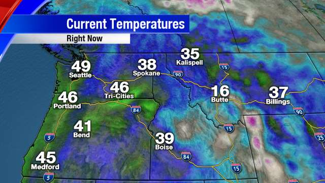 Northwest Temperatures